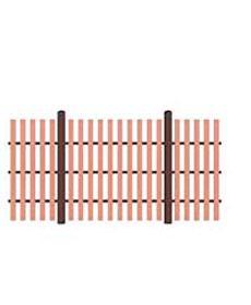 Забор Terradeck Z Plank (Россия)