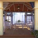 Пурпурный дворец. Беседка с террасой для дикого сада 15